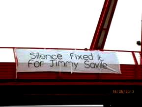 Silence fixed it Savile
