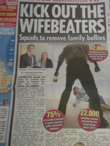 Kick out the wife beaters